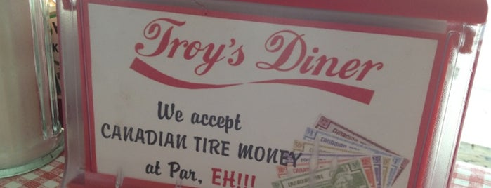 Troy's Diner is one of Best Restaurants.
