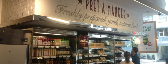 Pret A Manger is one of NYC.