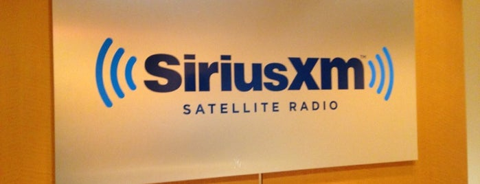 SiriusXM Studios is one of QqqqqrqcCaRqtgghhve5.
