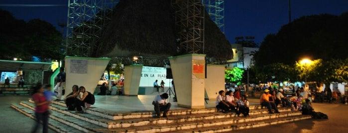Parque central is one of Tempat yang Disukai Joaquin.