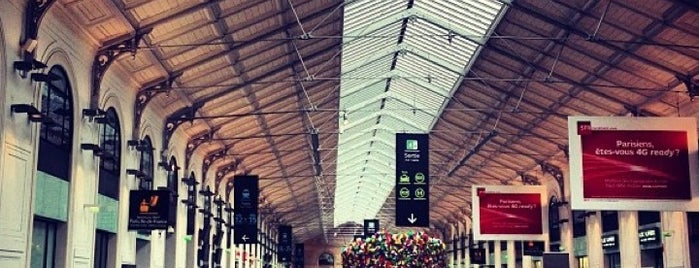 Gare SNCF de Paris Saint-Lazare is one of Must-Visit ... Paris.