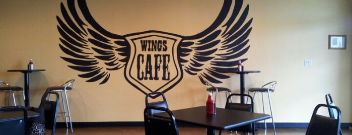 Wings Cafe is one of Orte, die Rodrigo gefallen.