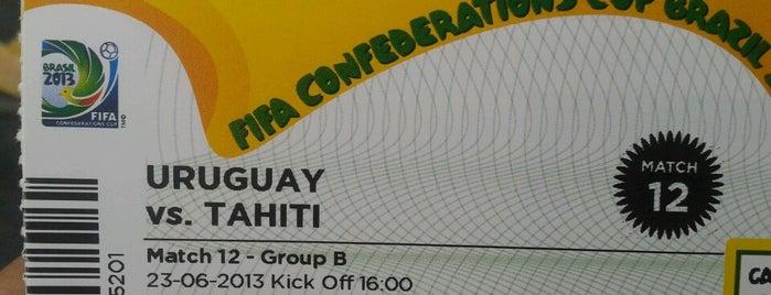 Fifa Confederations Cup Brazil 2013 is one of Locais curtidos por Jeff.