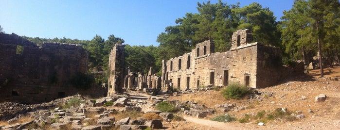 Lyrbe Antik Kenti is one of Antalya Gezilecek Yerler.