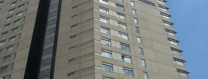 Hotel Hilton Diagonal Mar is one of Hoteles en España.