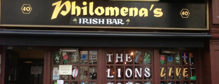 Philomena's is one of Lugares favoritos de Tiago.
