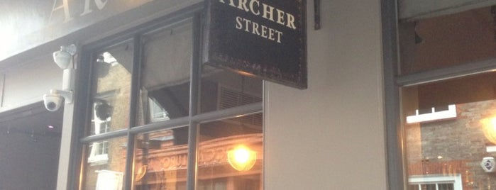 Archer Street is one of Locais salvos de Analucia.