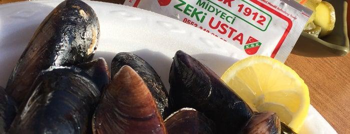 Midyeci Zeki Usta is one of İzmir'de hafta sonu.