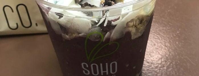 SOHO Juice Co. is one of Posti che sono piaciuti a Sasha.
