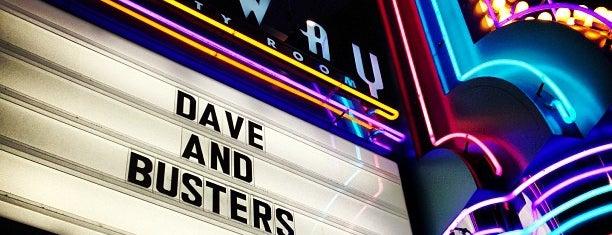 Dave & Buster's is one of Harmoney: сохраненные места.