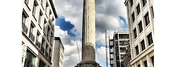 The Monument is one of London Favorites.