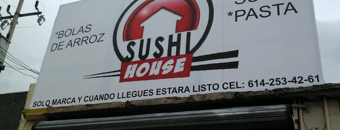 Sushi House is one of Lugares por ir.