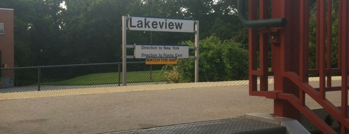 LIRR - Lakeview Station is one of Collection of train station.