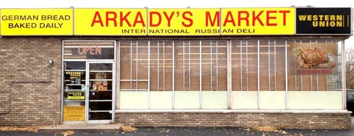 Arkady's Market is one of Lieux qui ont plu à Krista.