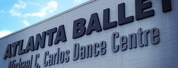 Michael C. Carlos Dance Centre - Atlanta Ballet is one of Elisa : понравившиеся места.