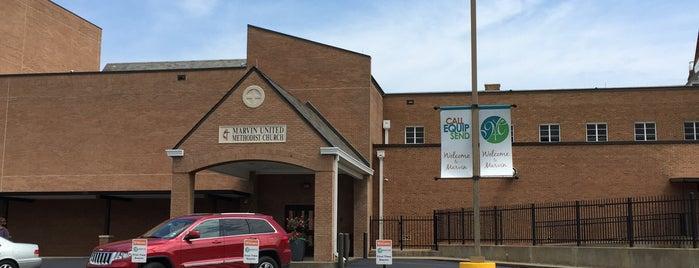 Marvin United Methodist Church is one of William'ın Beğendiği Mekanlar.