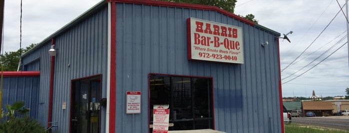 Harris Bar-B-Que is one of Texas Monthly's Top 50 BBQ Joints in Texas.