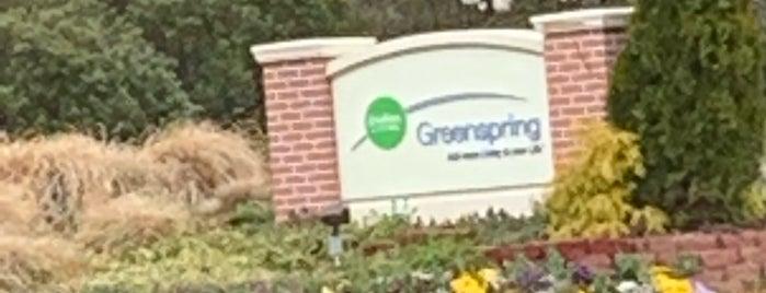 Greenspring Retirement Community is one of Orte, die GreatStoneFace gefallen.