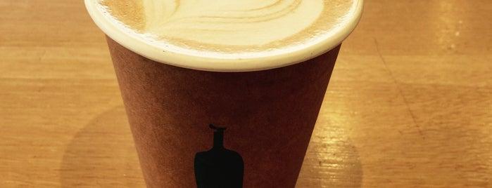 Blue Bottle Coffee Co is one of สถานที่ที่บันทึกไว้ของ Aaron.