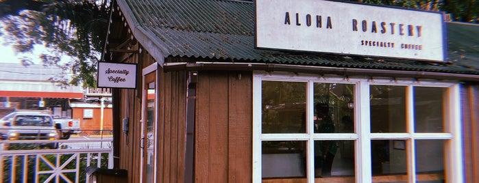 Aloha Roastery is one of Kauai.