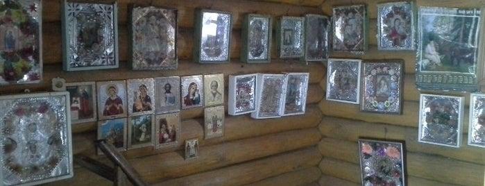 Святой источник Явленный is one of Дивеево.