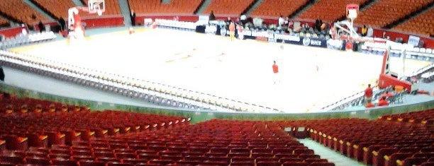 Hofheinz Pavillion is one of College Basketball Arenas.