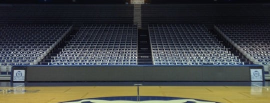 Hinkle Fieldhouse is one of Sporting Venues To Visit.....