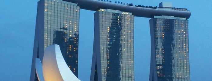 Marina Bay Sands Hotel is one of 建築マップ.