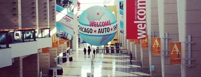 Chicago Auto Show is one of Lugares favoritos de Max.
