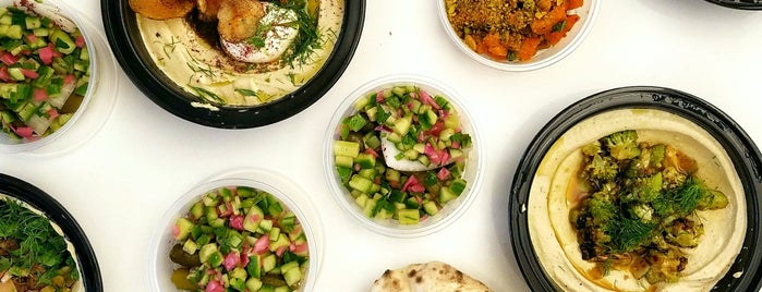 Dizengoff is one of 11 Howard + Foursquare Guide to Fall in NYC.