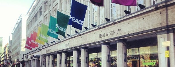 Heal's is one of London to do's.