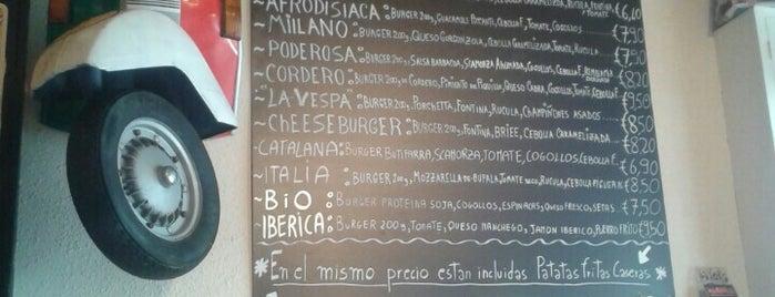La Vespa Burguer is one of To try in Barcelona.