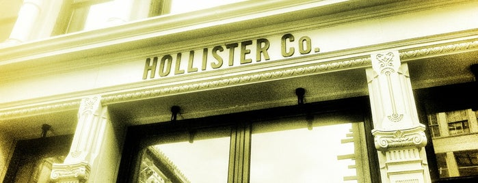 Hollister Co. is one of douchebag.