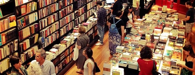 Livraria da Travessa is one of Claudiaさんのお気に入りスポット.
