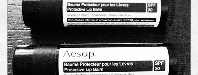 Aesop is one of Paris, je t'aime.