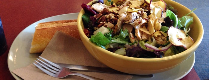 Panera Bread is one of Go-to EATS in Saratoga Springs.