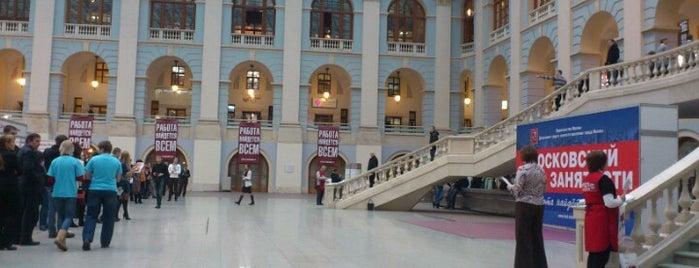 Гостиный двор is one of TOP-100: Торговые центры Москвы.