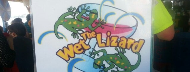 The Wet Lizard is one of Lieux qui ont plu à Carl.