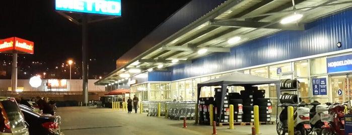 METRO Toptancı Market is one of Ozer : понравившиеся места.