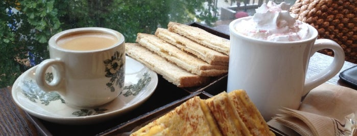 Kopitiam Singapore Toast And Coffee is one of 🇰🇷👆🏿.