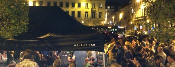 Ralph's Bar is one of Brussels's best spots.