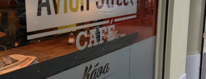 Avion Street Café is one of Praha Baru.