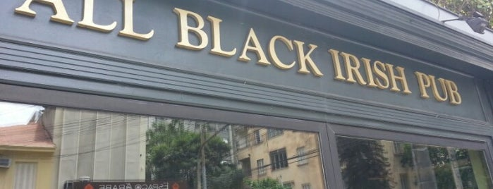 All Black Irish Pub is one of Pubs.