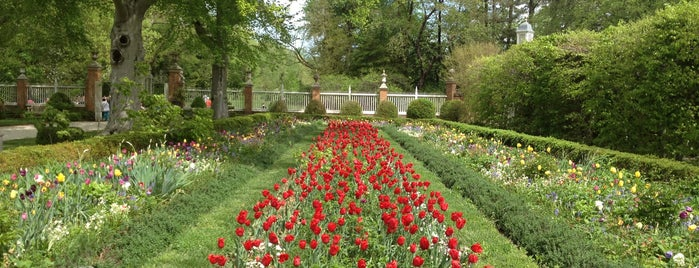 Palace Garden is one of Colonial Williamsburg.