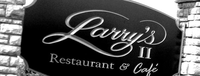 Larry's II Restaurant is one of New Jersey Diners.