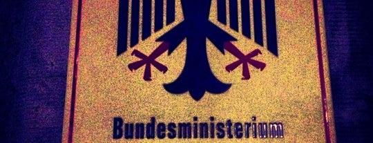 Bundesministerium für Familie, Senioren, Frauen und Jugend is one of Berlin #4sqcities.