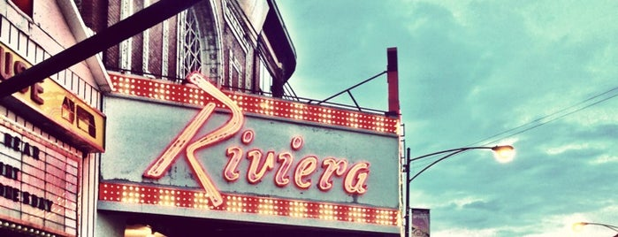 Riviera Theatre is one of Anthony 님이 저장한 장소.