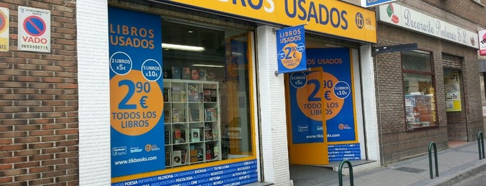 tik books is one of Madrid.