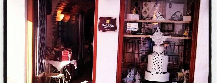 Χάλαρης Παραδοσιακά Γλυκά (Halaris Patisserie) is one of Aux Îles vol II.