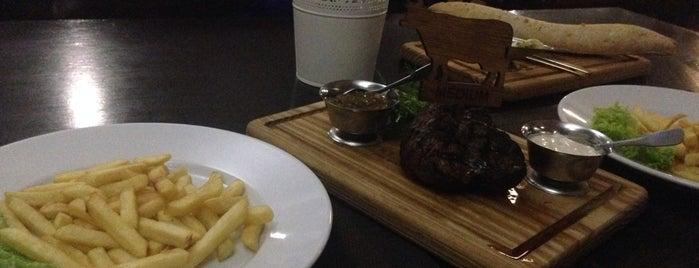 Хлеб & Мясо Gastro Bar is one of Olga: сохраненные места.